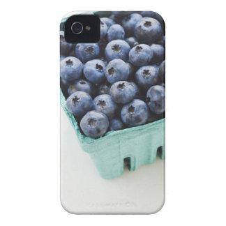 Studio shot of blueberries iPhone 4 cover