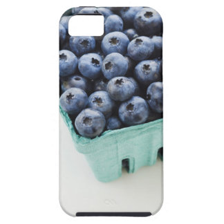 Studio shot of blueberries iPhone 5 cover