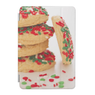 Studio Shot of christmas cookies with sprinkles iPad Mini Cover