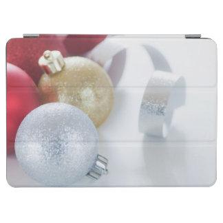 Studio shot of Christmas ornaments iPad Air Cover