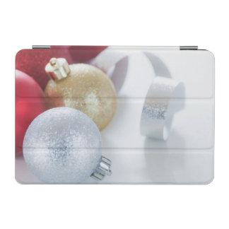 Studio shot of Christmas ornaments iPad Mini Cover