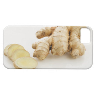 Studio shot of fresh ginger case for the iPhone 5