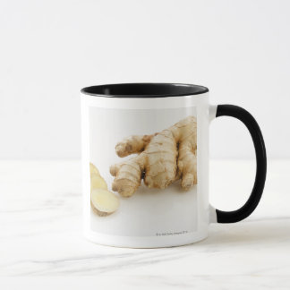 Studio shot of fresh ginger mug