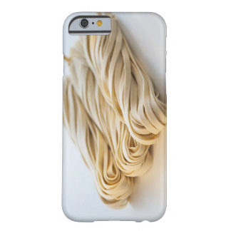 Studio shot of fresh linguini pasta barely there iPhone 6 case