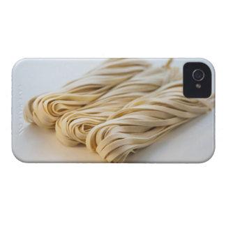 Studio shot of fresh linguini pasta Case-Mate iPhone 4 case