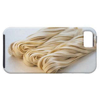 Studio shot of fresh linguini pasta iPhone 5 case