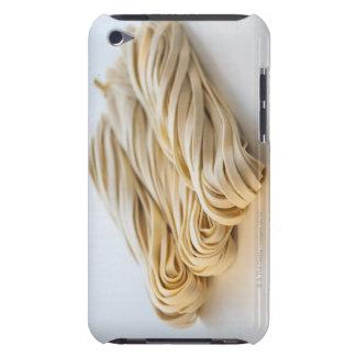 Studio shot of fresh linguini pasta iPod touch case