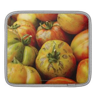 Studio shot of heirloom tomatoes iPad sleeve