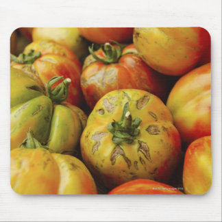 Studio shot of heirloom tomatoes mouse mat