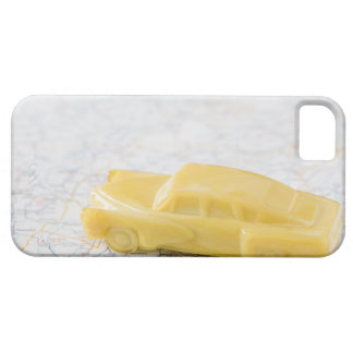 Studio shot of old-fashioned toy car barely there iPhone 5 case