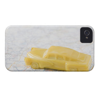 Studio shot of old-fashioned toy car Case-Mate iPhone 4 case