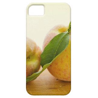 Studio shot of peaches iPhone 5 cover