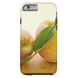 Studio shot of peaches tough iPhone 6 case