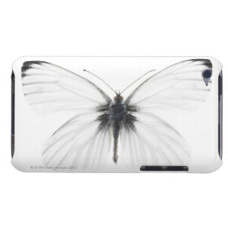 Studio shot of sharp-veined white butterfly barely there iPod cases