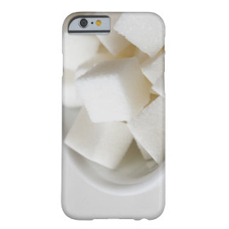 Studio shot of sugar cubes in bowl barely there iPhone 6 case