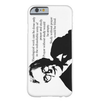 Study and Prayer Karl Barth Barely There iPhone 6 Case