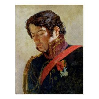 Study for a Portrait of Baron Dominique Larrey Postcard