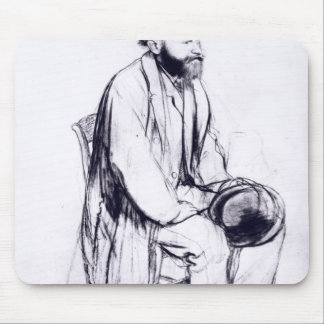 Study for a portrait of Manet Mouse Pad
