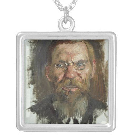 Study for a Portrait of Professor Dr. Eduard Personalized Necklace