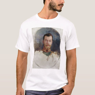 Study for a portrait of Tsar Nicholas II  1898 T-Shirt
