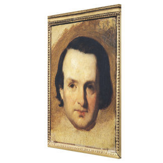 Study for a portrait of Victor Hugo  c.1836 Canvas Print