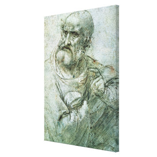 Study for an Apostle from The Last Supper, c.1495 Stretched Canvas Prints