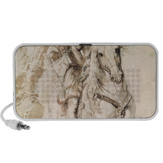 Study for an equestrian portrait mp3 speakers