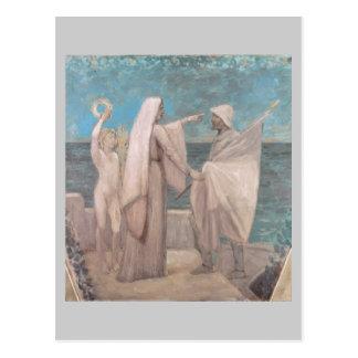 Study for Patriotism by Pierre Puvis de Chavannes Post Cards