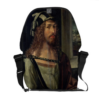Study for Self Portrait with a Glove, c.1498 Courier Bags