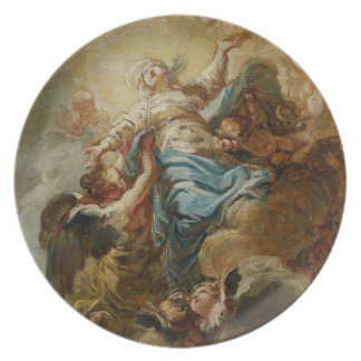 Study for the Assumption of the Virgin, c.1760 2 Plate