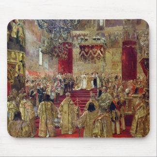 Study for the Coronation of Tsar Nicholas II Mouse Pad