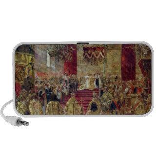Study for the Coronation of Tsar Nicholas II Travel Speakers