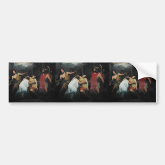 Study for the Death of Lucretia  by Pierre Guerin Car Bumper Sticker