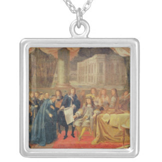 Study for The Establishment of the Academie Silver Plated Necklace