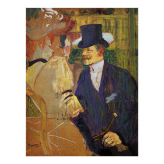 Study for the flirt,Englishman in the Rouge Poster