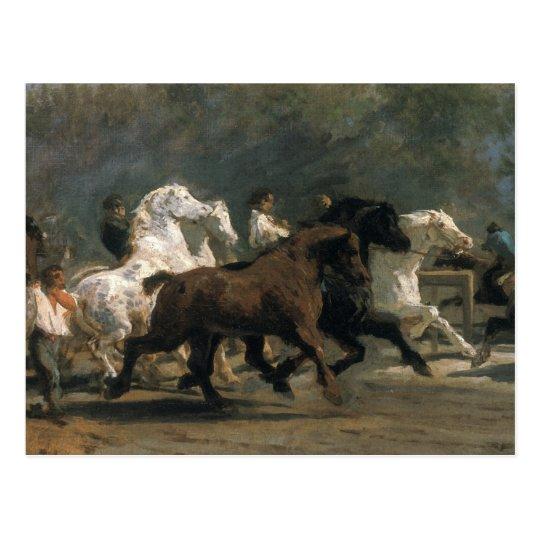 Study for the Horsemarket, 1900 Postcard