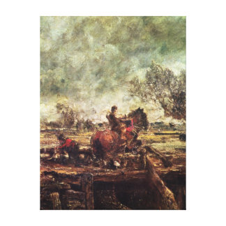 Study for The Leaping Horse Canvas Print