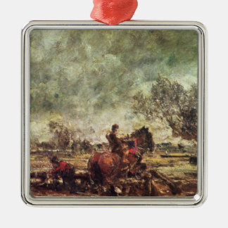 Study for The Leaping Horse Christmas Ornament