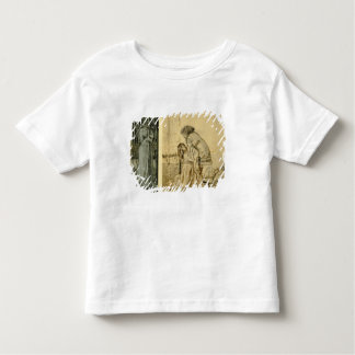 Study for the painted panels on the St. George Cab Toddler T-Shirt