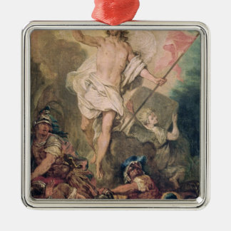 Study for the Resurrection for a painting Christmas Ornament