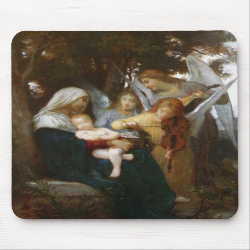 Study For Vierge Aux Anges Mousepad