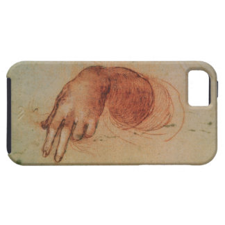 Study of a hand (red chalk on paper) tough iPhone 5 case