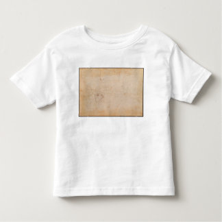 Study of a male head toddler T-Shirt
