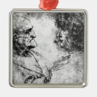 Study of a 'nutcracker' man and beautiful christmas ornament