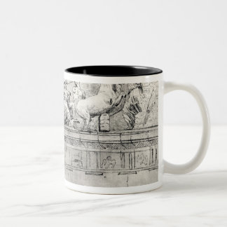 Study of a pediment from the Parthenon Mugs