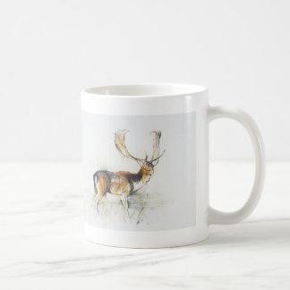 Study of a Stag Coffee Mug