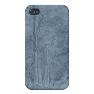 Study of ash and other trees iPhone 4/4S case