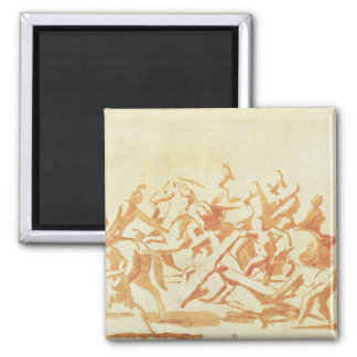 Study of Christ Carrying the Cross (chalk and wash Magnet