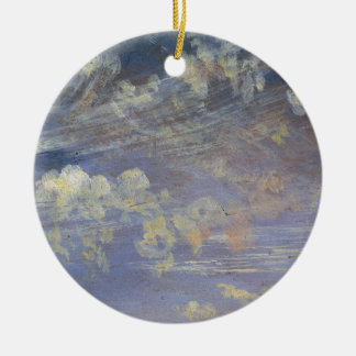Study of Cirrus Clouds Christmas Ornament