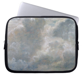 Study of Cumulus Clouds, 1822 (oil on paper laid o Laptop Sleeve